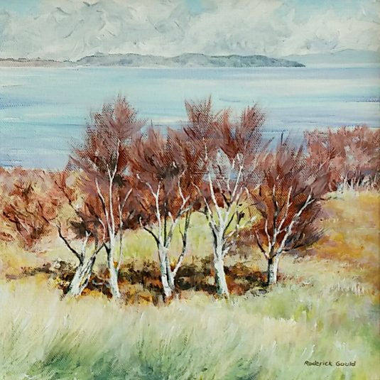 Birches, Looking to Isle of Bute