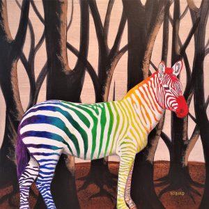 Zebra of a (Very) Different Stripe 1