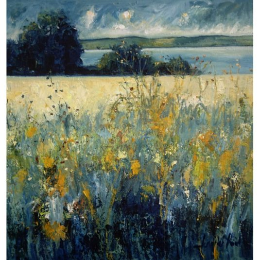 Wild Summer Meadow Near the Tay
